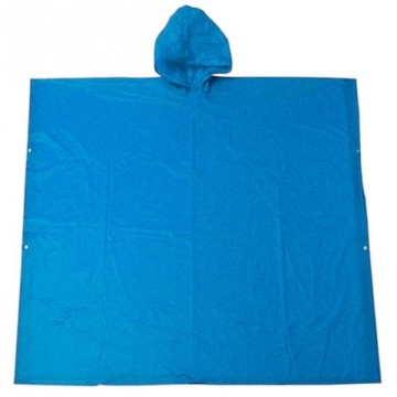Custom Reusable PVC Rain Poncho with Logo Printing