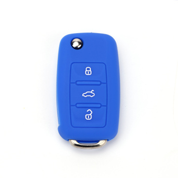 Hot selling silicone volkswagen polo key holder case