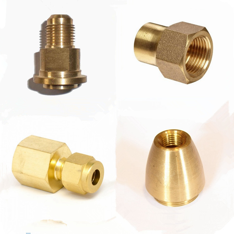 Oem Factory Cnc Milling Machined Brass Turning Parts 1