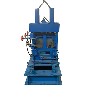 Hydraulic change size c purlin roll forming machine