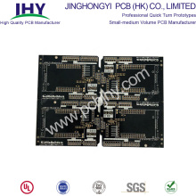 Top Quality for pcb prototype service Double Sided PCB Black FR4 1.6mm 1oz supply to Portugal Factory