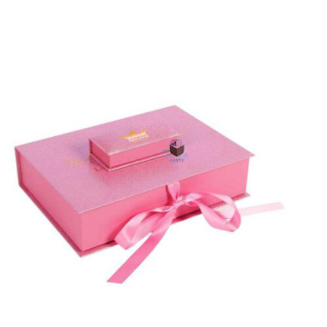 Hot Silver Foil Private Label Eyelashes Paper Box