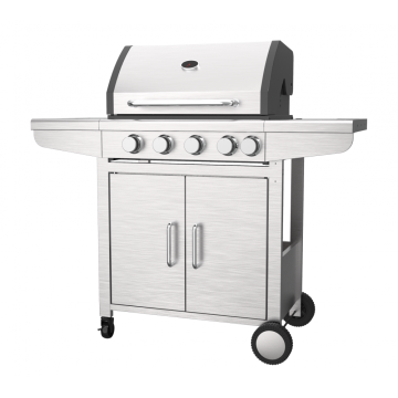 Four Burner Gas Grill With Side Burner