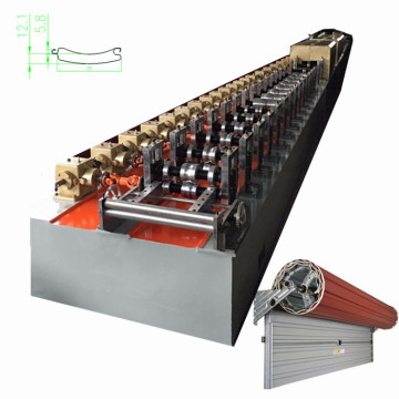 Double layer shutter door roll forming machine