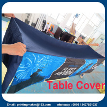 8 Feet Customized Table Cover Cloth Printing