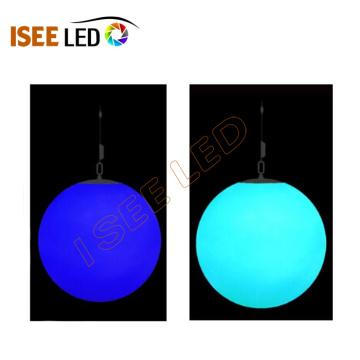 DMX rgb color change multicolor magic led ball