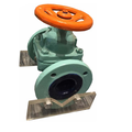 Top quality OEM professional design Ductile ball valve body for gas