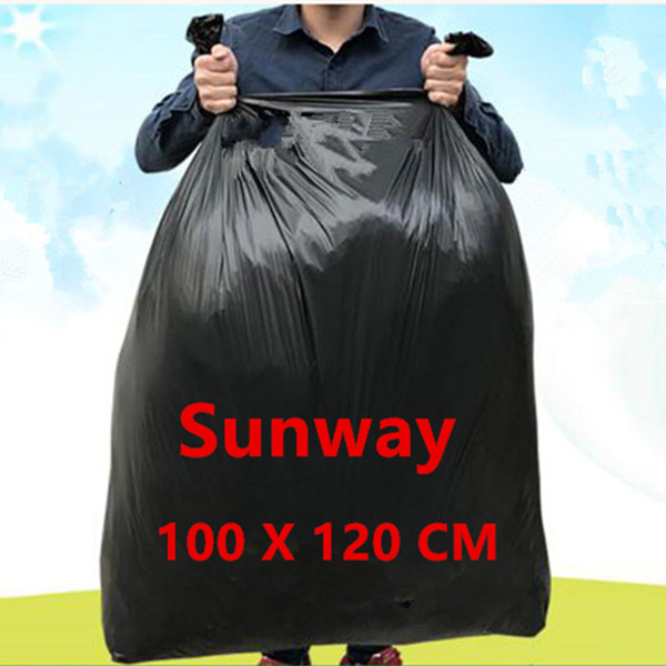 Large Black Trash Bags