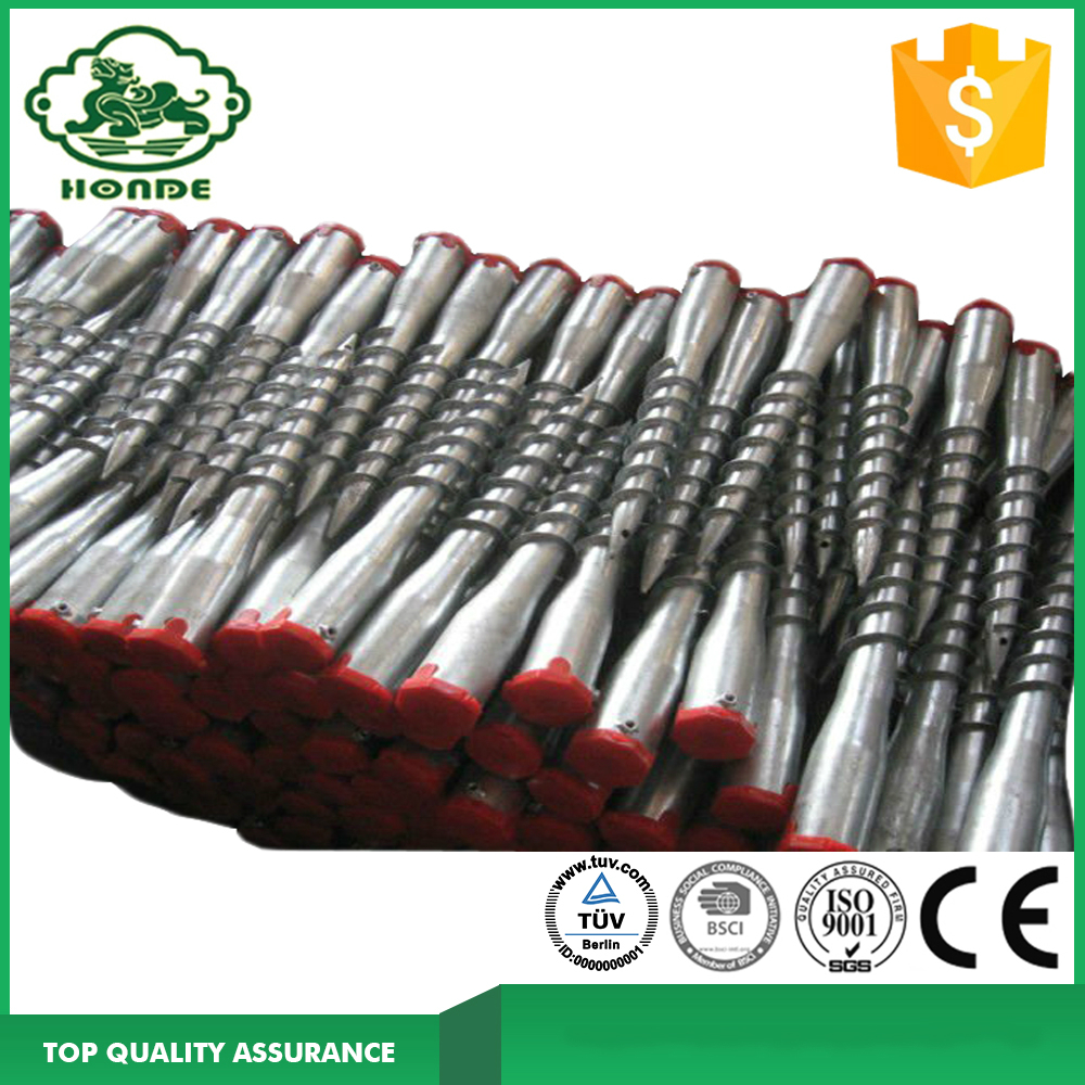 Galvanized Ground Screw Pile N60*550mm