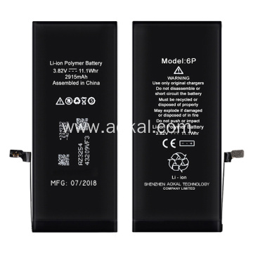 China for iPhone 6 Plus Lithium-Ion Battery New iPhone6 Plus Battery support iOS 11.4 update export to South Korea Wholesale