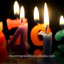Special Price for Golden Number Candles Hot Sale Creative Number Birthday Party Candle supply to France Suppliers