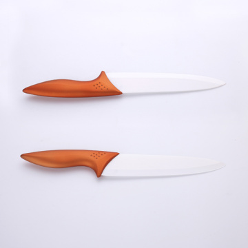 8 Inches Copper Handle White Ceramic Chef Knife