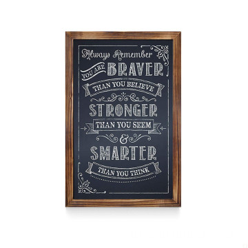Made In China 11*17Inch Wood Chalkboard Mini