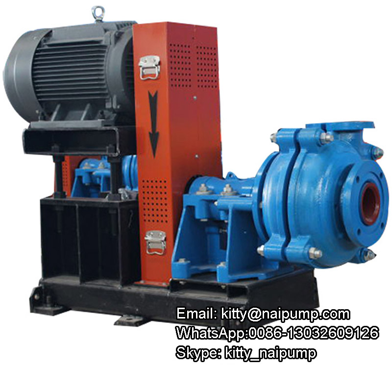 4x3slurry pump with 30kw Motor