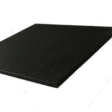 Rubber floor for fitness room