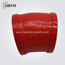 China for Pipe Fitting Casting Elbow Concrete Pump DN125 15Degree Casting Elbow export to Luxembourg Manufacturer