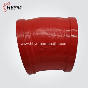 High Quality for Concrete Pump Elbow Concrete Pump DN125 15Degree Casting Elbow export to United Kingdom Manufacturer