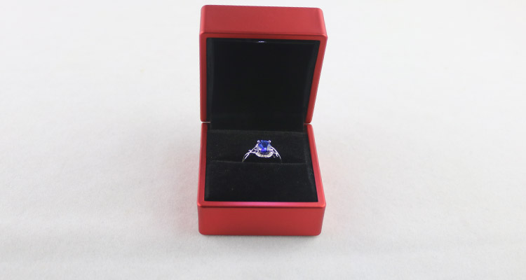 Plastic Led Red Ring Box
