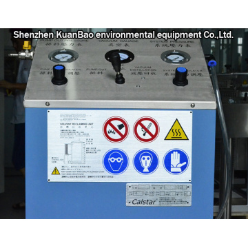 Vacuum Decompression Solvent Recovery Equipment