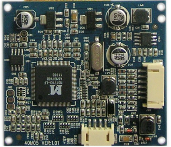 Video Controller Board For 4 Inch Tft Lcd