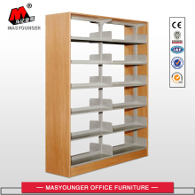 10 Years manufacturer for Library Shelving Systems Double Faced Wooden Panel Library Bookshelf export to Norway Wholesale
