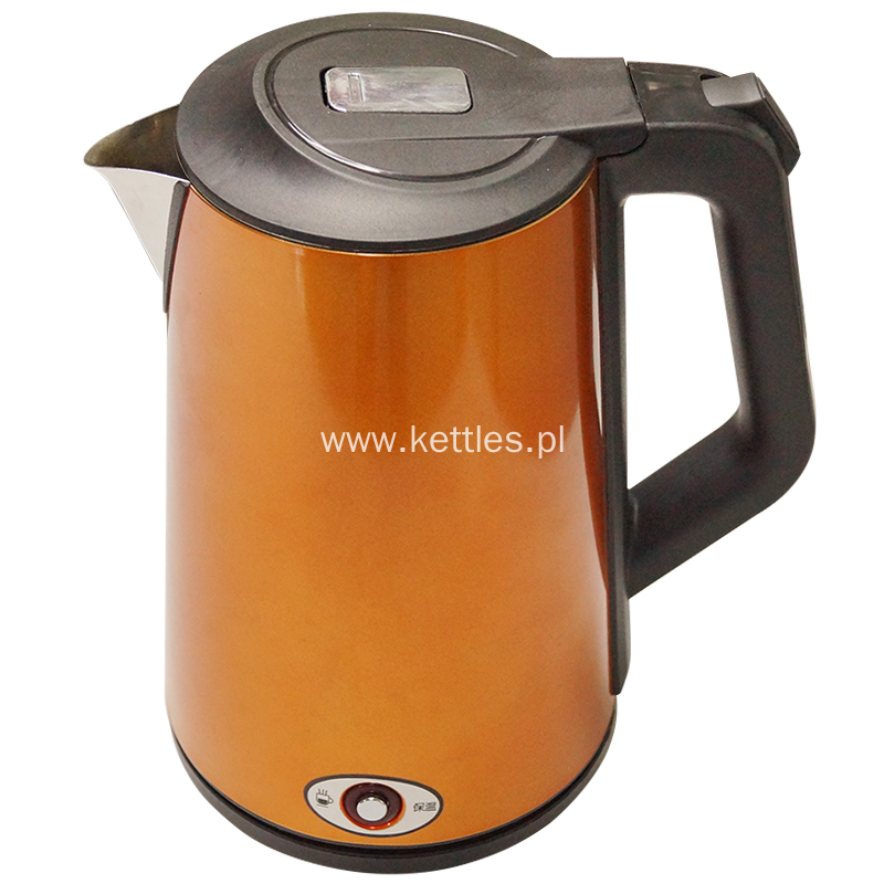 Cool touch keep warm electric kettle 2017