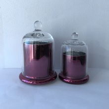 Wholesale Dealers of for Glass Candle Jars Copper glass candle jar supply to Greece Manufacturers