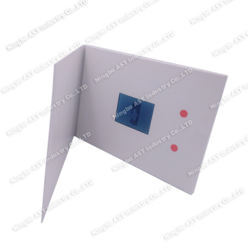 2.4Video Booklet for Ad,LCD Video Brochure Card
