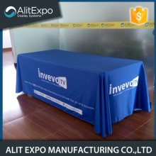 Trade show square fitted table cover