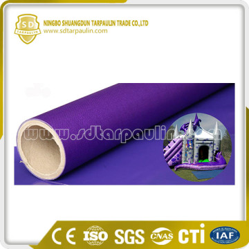 High Quality Mesh Environmental Infalatable Castle Fabric