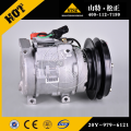 PC300-7  PC200-7 genuine Spare parts 20Y-979-6121 COMPRESSOR ASS'Y