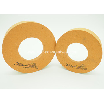 orange10S80 polishing wheel with holes for glass