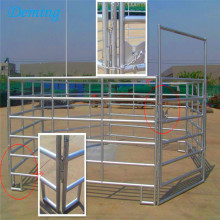 Iron Rails Galvanised Horse Fence for Protection