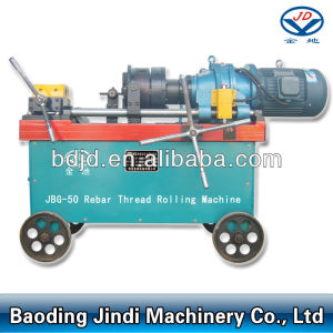 JBG-50 Rebar Rib Peeling and Threading Machine