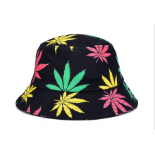 Customized for Reversible Bucket Hat Printing Fashion Women Woven Bucket Hat supply to El Salvador Manufacturer