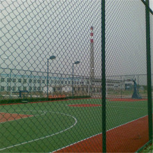 Airport Chain Plastic Coated Link Fence