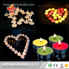wholesale colorful tealight candle