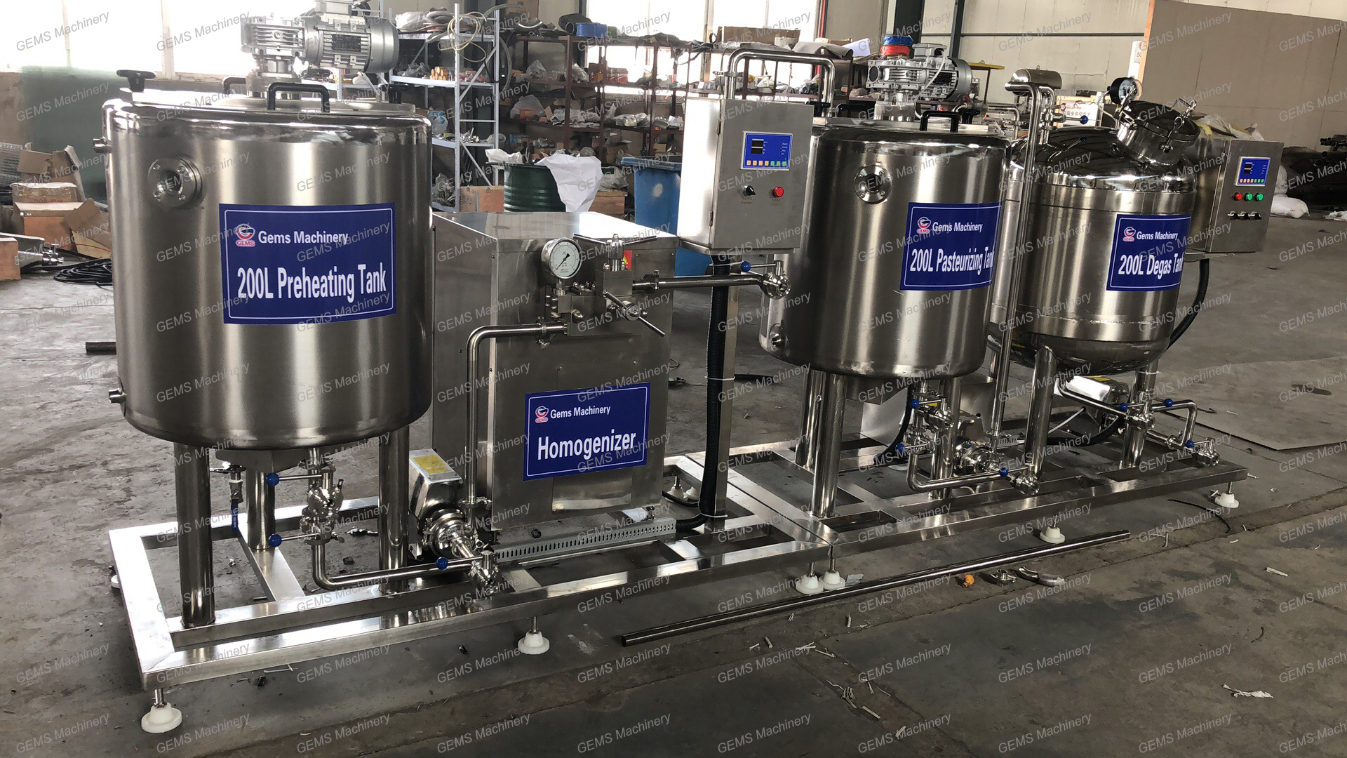 Soy Yogurt Production Line