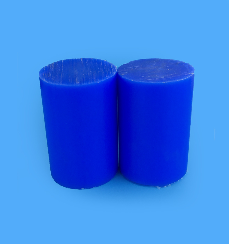 Blue Nylon6 Rod