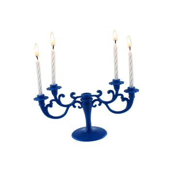 Artistic Candlestick Shaped Spiral Figure Candle