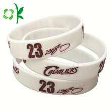 Customized for Printing Silicone Bracelet Printing Logo Best Quality Silicone Wristband for Souvenir export to Italy Manufacturers