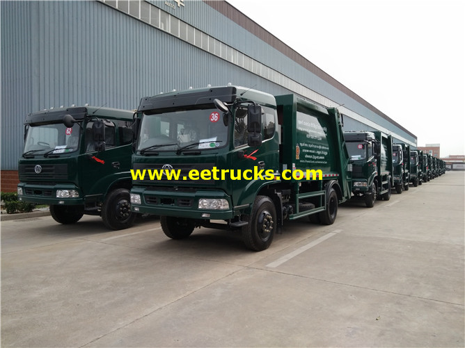 4x2 Compressed Waste Trucks