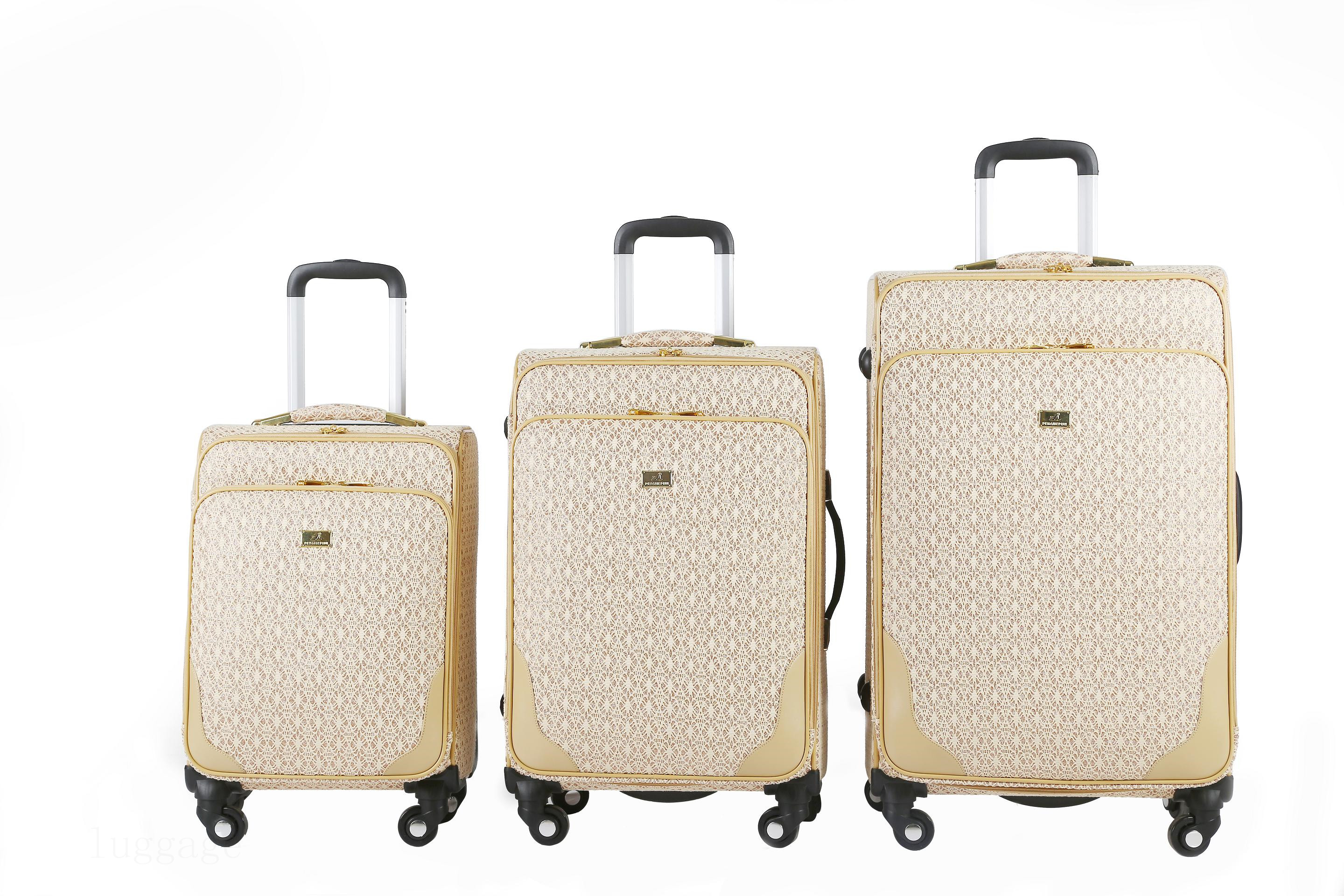 3176# PU LUGGAGE BAGS