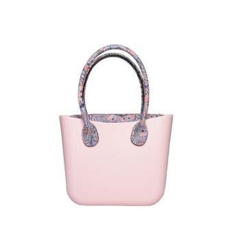 Women stylish stand up EVA plastic beach handbags