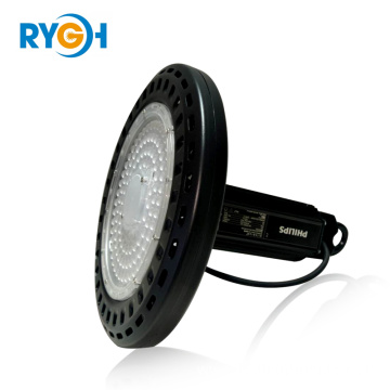 2018 150W 200W Patent 150lm / w UFO LED High Bay Lighting mam Philips Driver