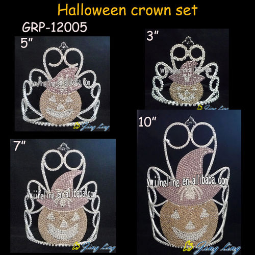 Wholesale Holiday Pumpkin Pageant  Halloween Crown