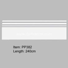 20 Years Factory for Pu Skirtings Polyurethane Wall Skirting Board supply to India Importers