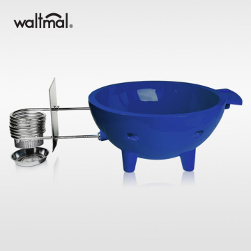 Waltmal Outdoor Hot Tub in Sapphire