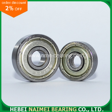 Mini Deep Groove Ball Bearing 626z with size 6*19*6mm