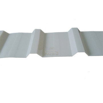 Wavy Plastic Roofing Corrugated Steel Price Per Sheet